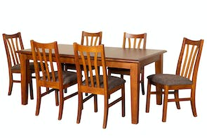 Waihi Extension Dining Table 1800 by Coastwood Furniture
