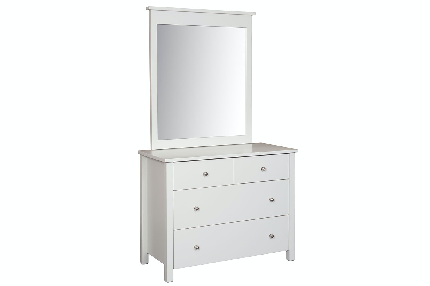 Tillsdale Kids 4 Drawer Dresser with Mirror by Coastwood Furniture