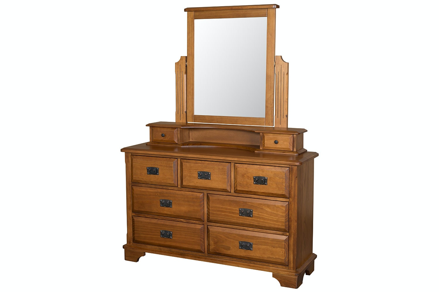 Maison 9 Drawer Dresser with Mirror by Coastwood Furniture