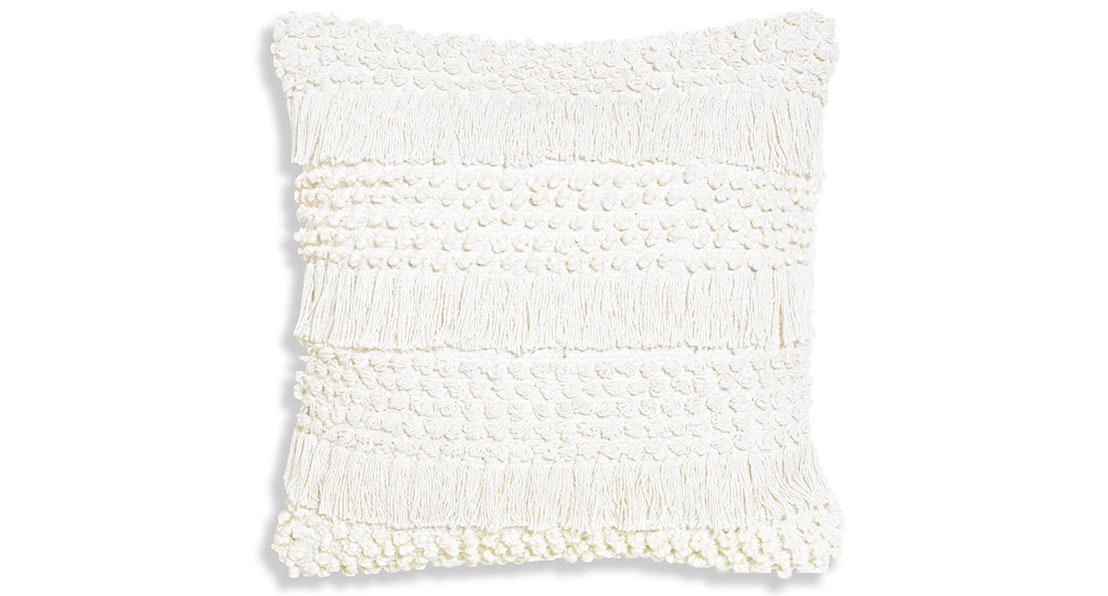 Shimmy Ivory Square Cushion by Maison