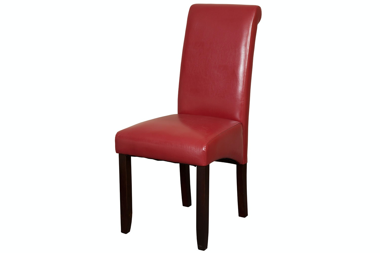 Trafalgar Red Roll Top Dining Chair by Coastwood Furniture