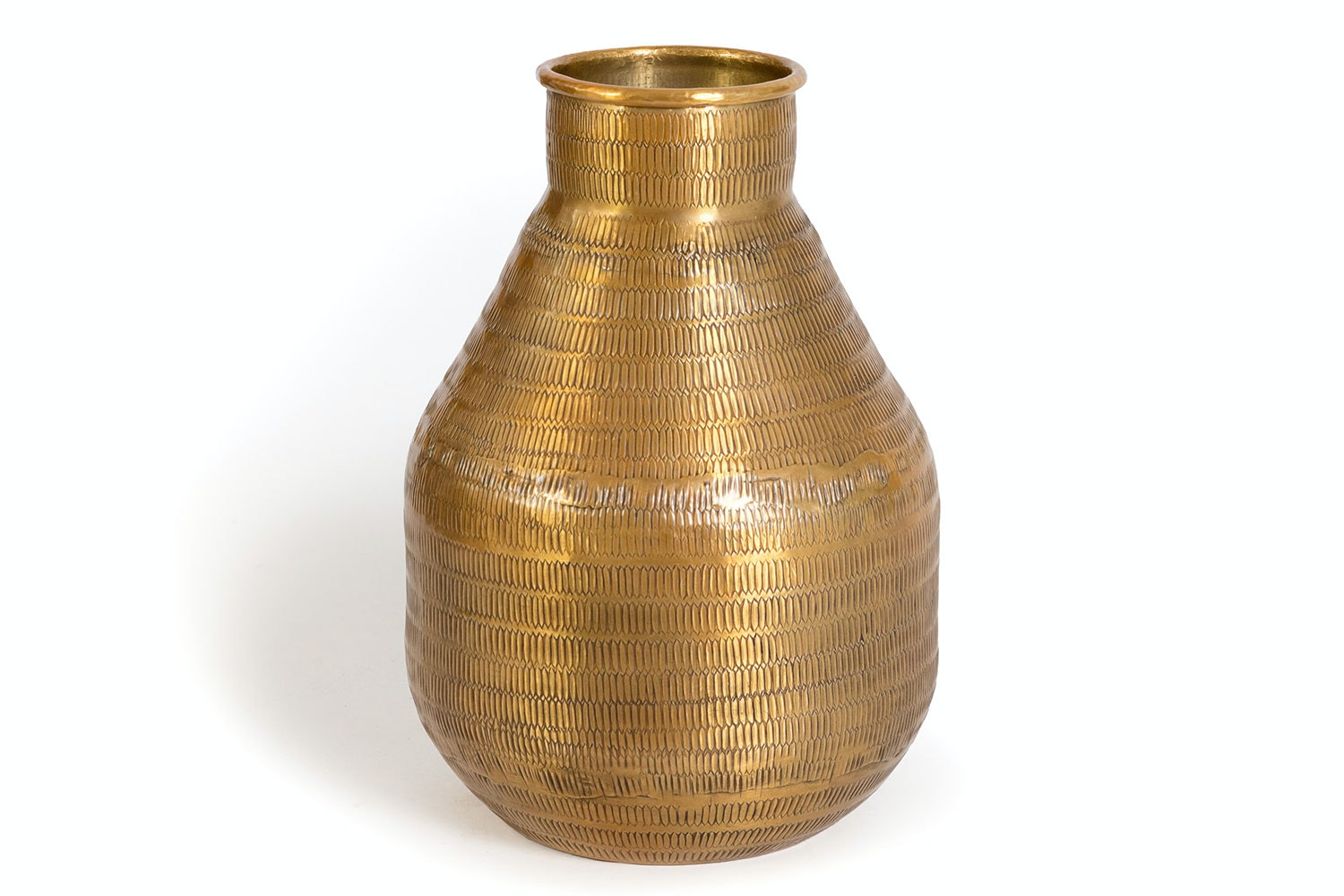 Nadee Brass Jug Vase by Parage