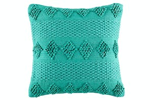 Weverly Teal Cushion by KAS Room