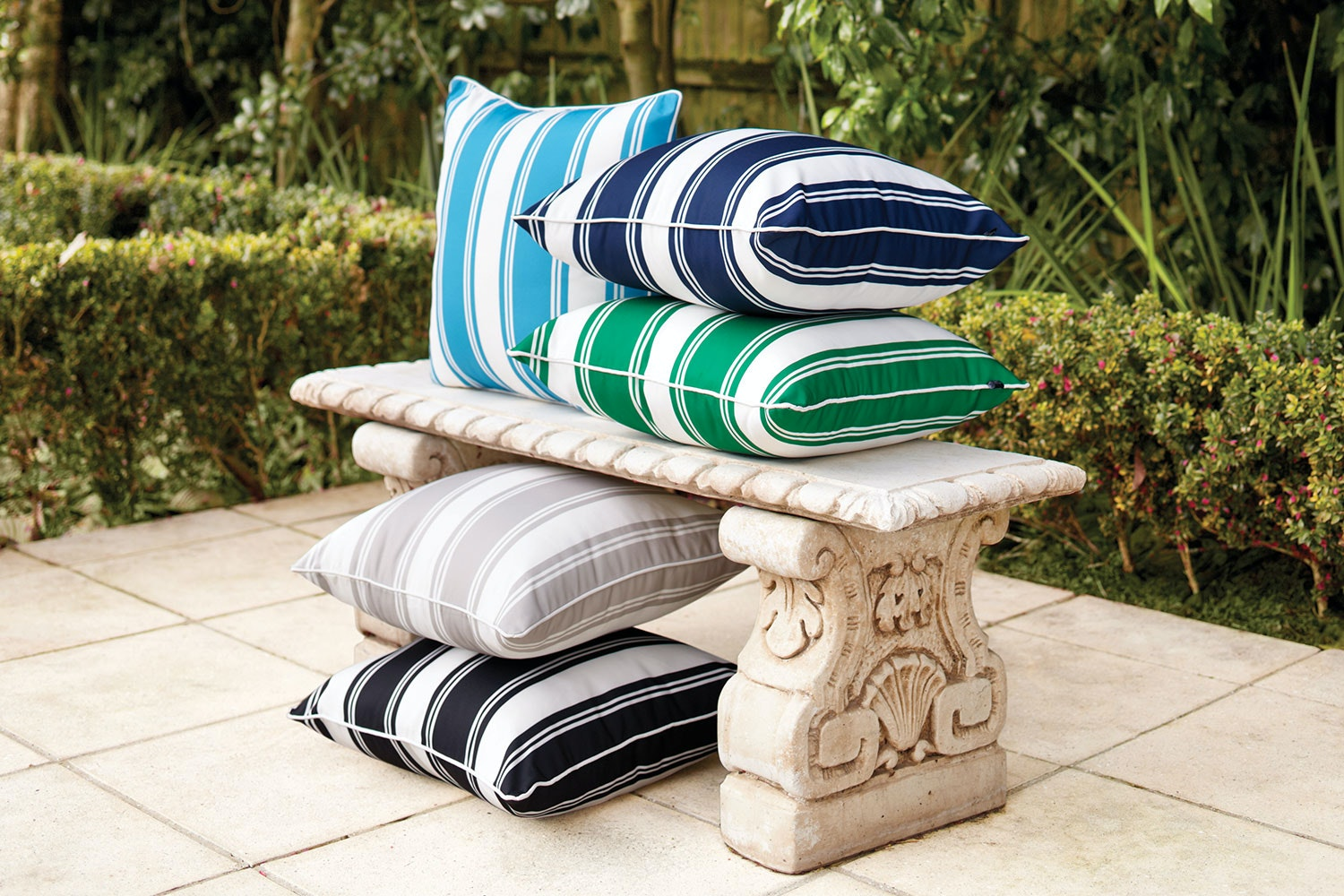 Positano Outdoor Cushion by Rapee