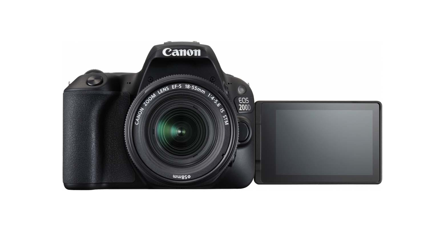 Canon Eos 200d With Efs 18 55mm F 4 56 Is Stm Lens Harvey Norman 700d Kit 135mm 35 Wishlist Compare