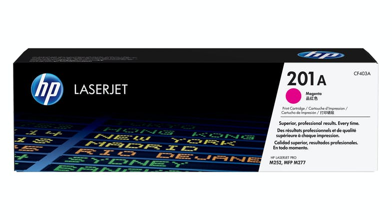 HP 201A LaserJet Magenta Toner Cartridge