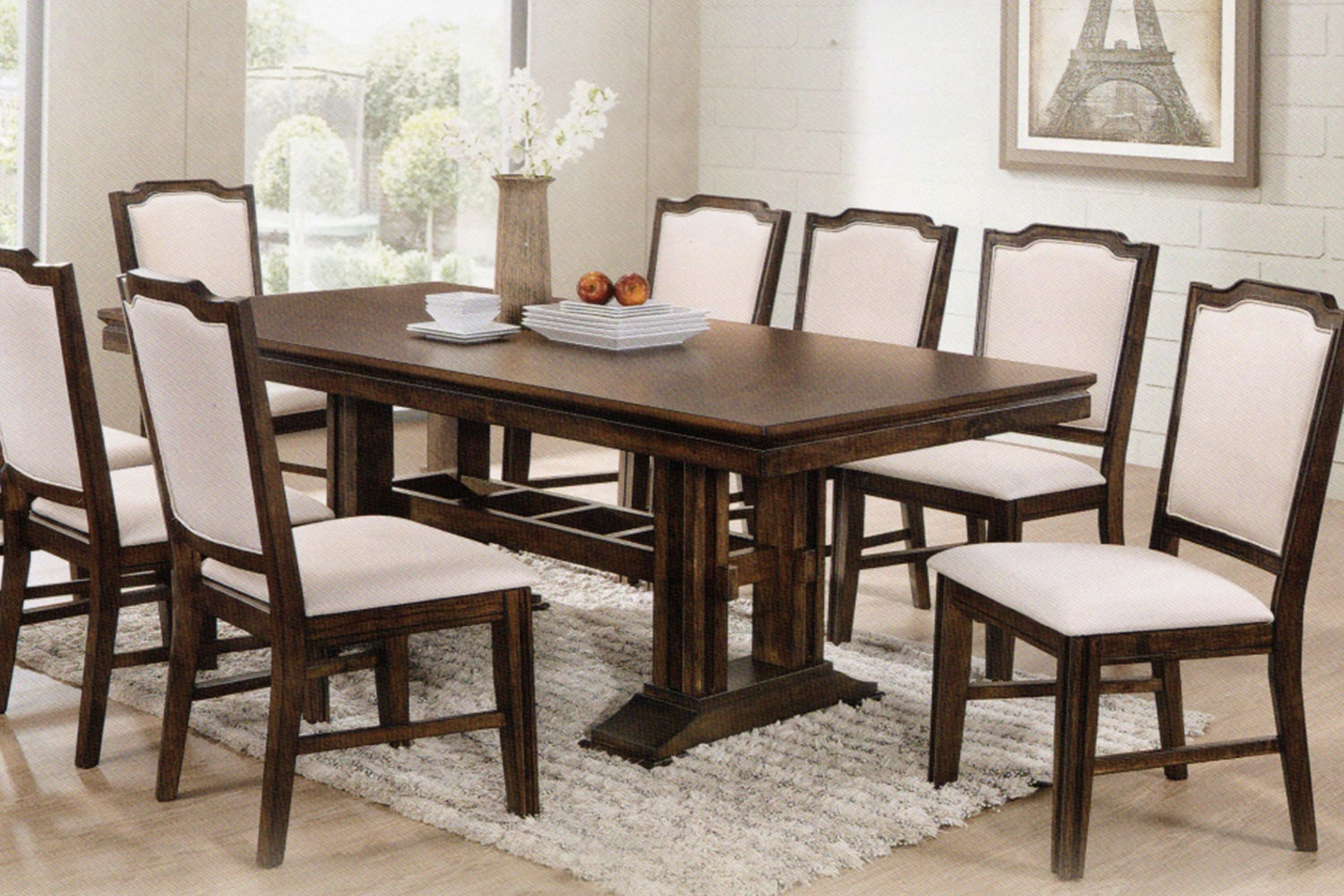 Windsor 9 Piece Dining Suite by Nero Furniture