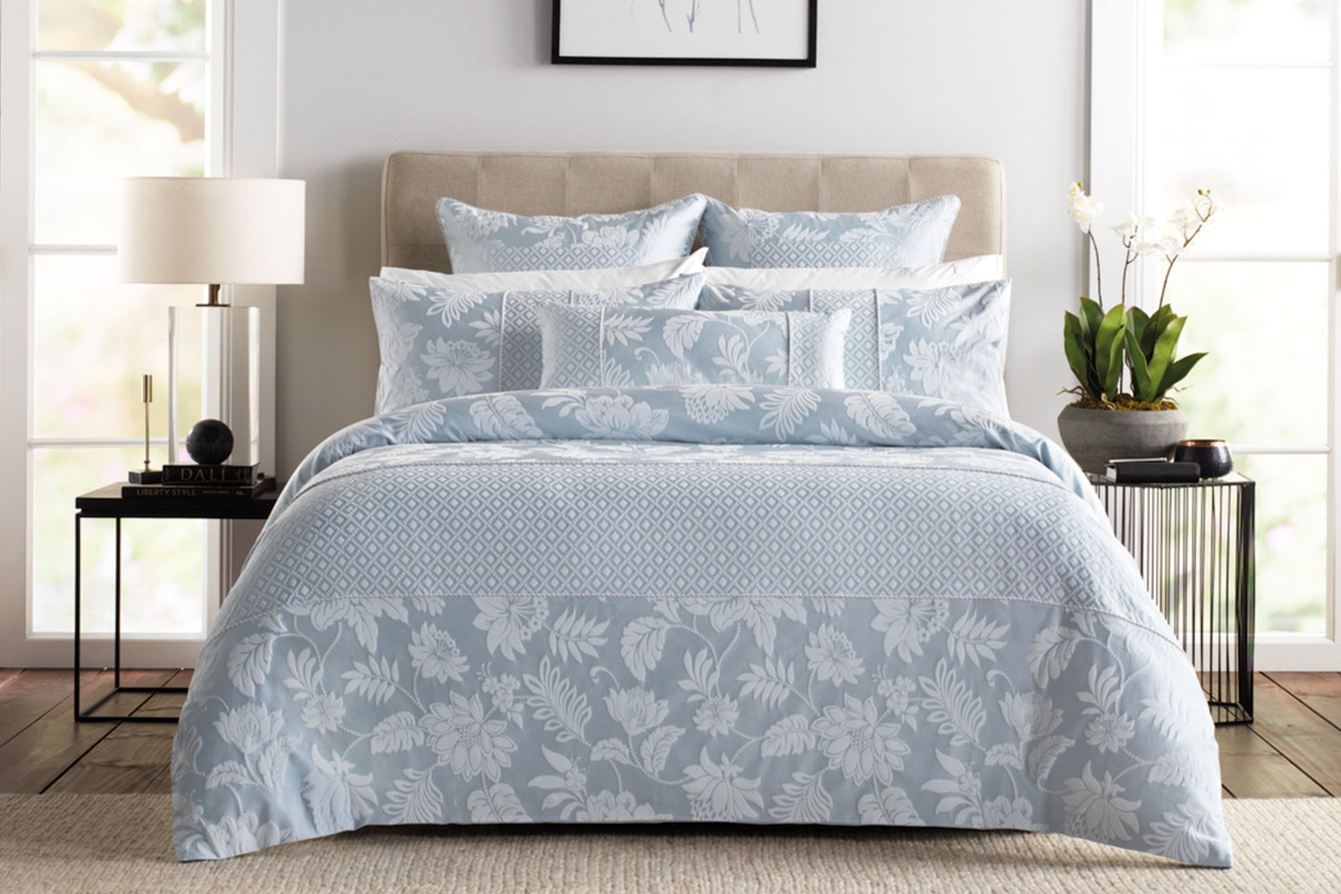 Angelis Haze Duvet Cover Set by Sheridan