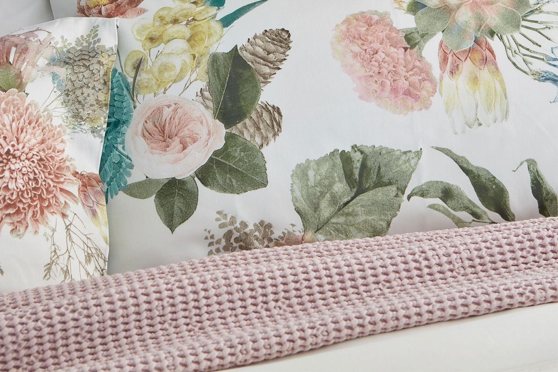 Bouquet Duvet Cover Set by Baksana