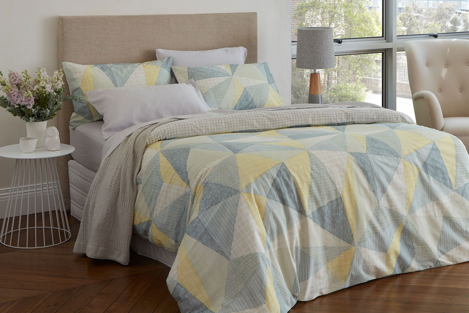 Loft Duvet Cover Set by Baksana