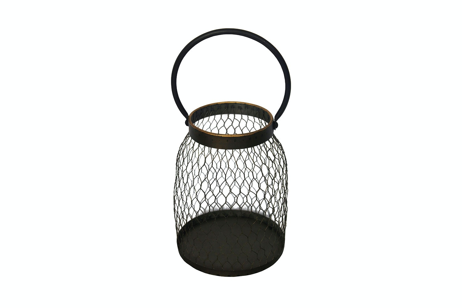 Metal Mesh lantern by Kerridge