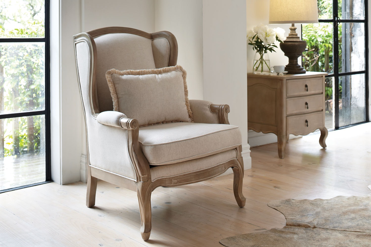 Adele Wing Chair by Vivin