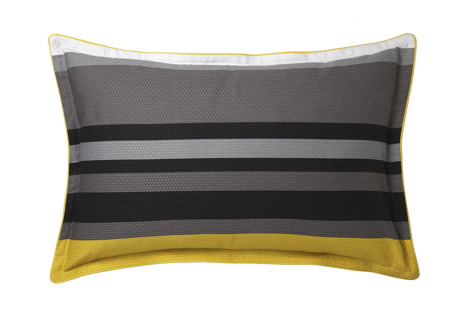 Conway Charcoal Duvet Cover Set by Platinum Collection - Pillowcase