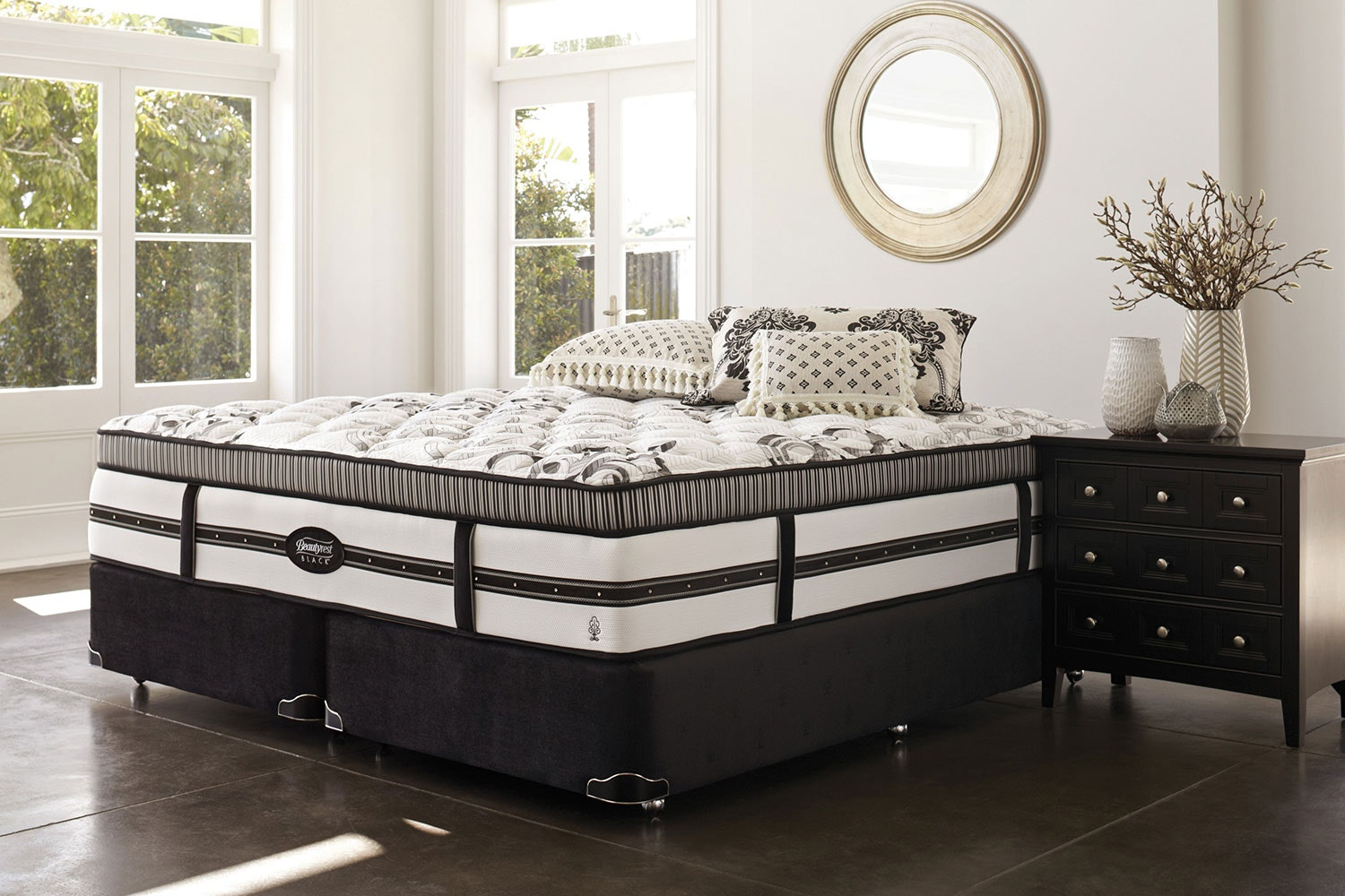 Hemingway Bed by Beautyrest Black