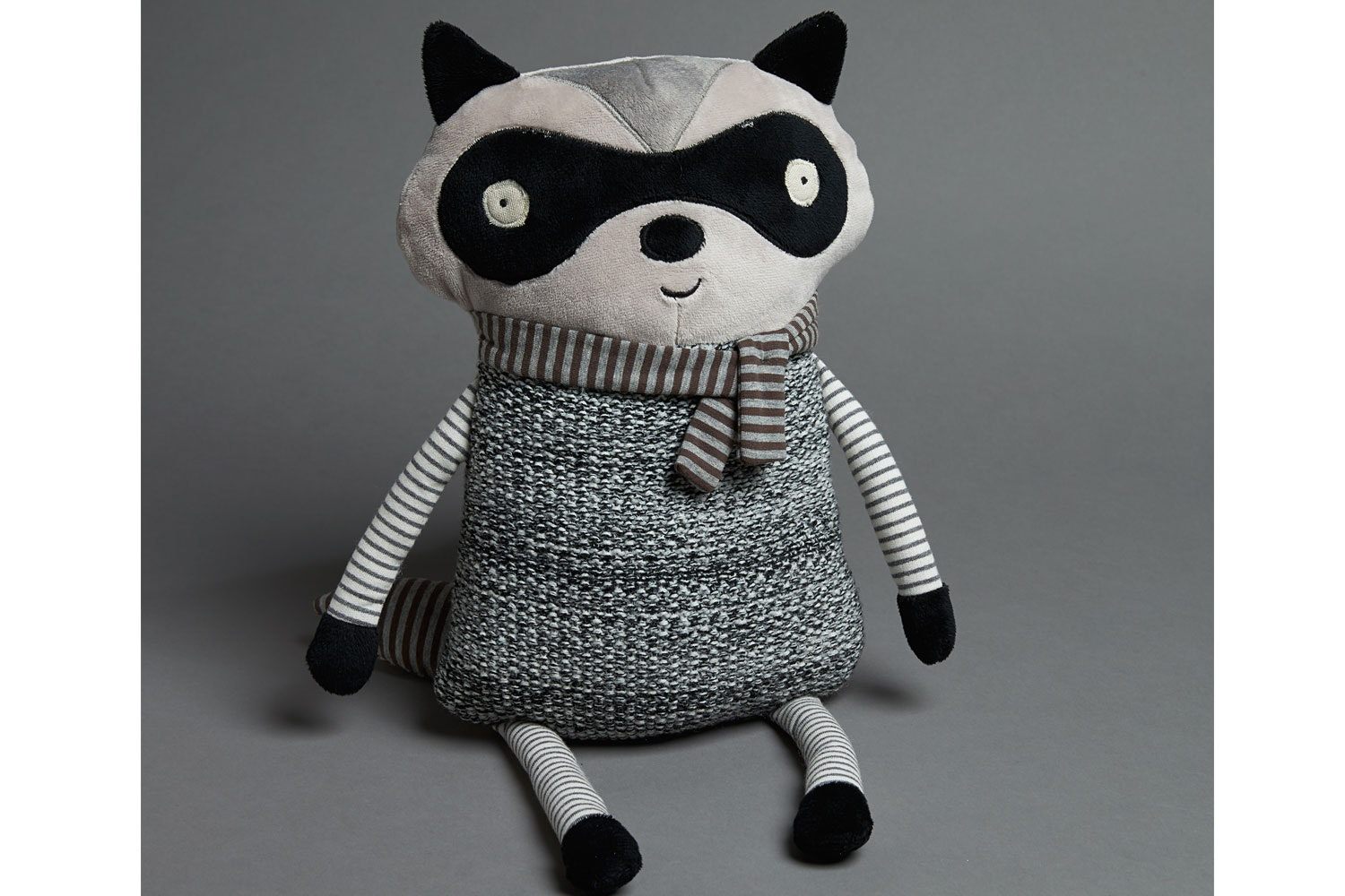 In The Woods Plush Racoon by Jiggle and Giggle