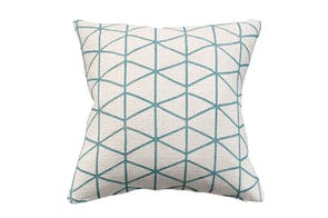 Lagoon Square Cushion by Limon