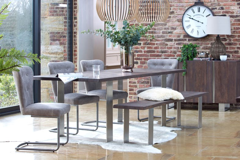 Luxemburg 200 Rectangle Dining Table by Collage