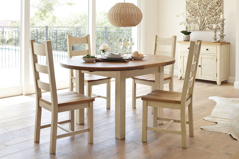Mansfield 5 Piece Extension Dining Suite by Debonaire Furniture