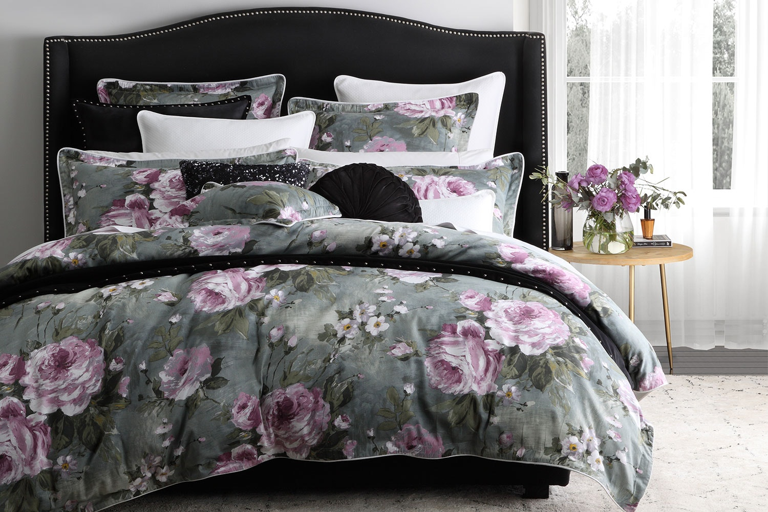 Monique Sage Duvet Cover Set by Private Collection