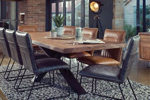 Soho 200 Rectangle Dining Table by Collage