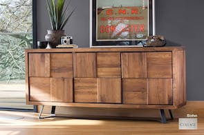Soho Multi Panel Buffet Table by Collage