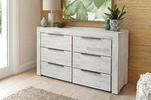 Cube 6 Drawer Lowboy by Vivin