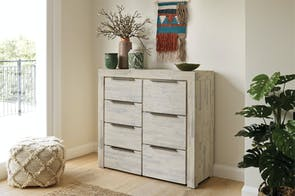 Cube 7 Drawer Tallboy by Vivin
