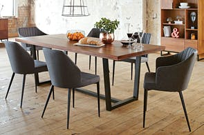 Matai Bay 2200 x 1000 Dining Table by Sorensen Furniture