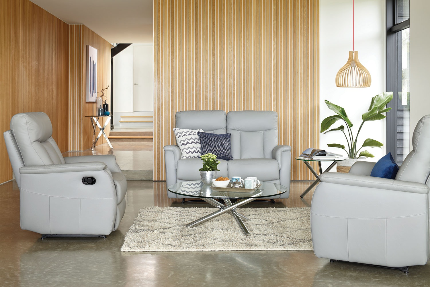 Eliza 3 Piece Leather Suite by John Young Furniture