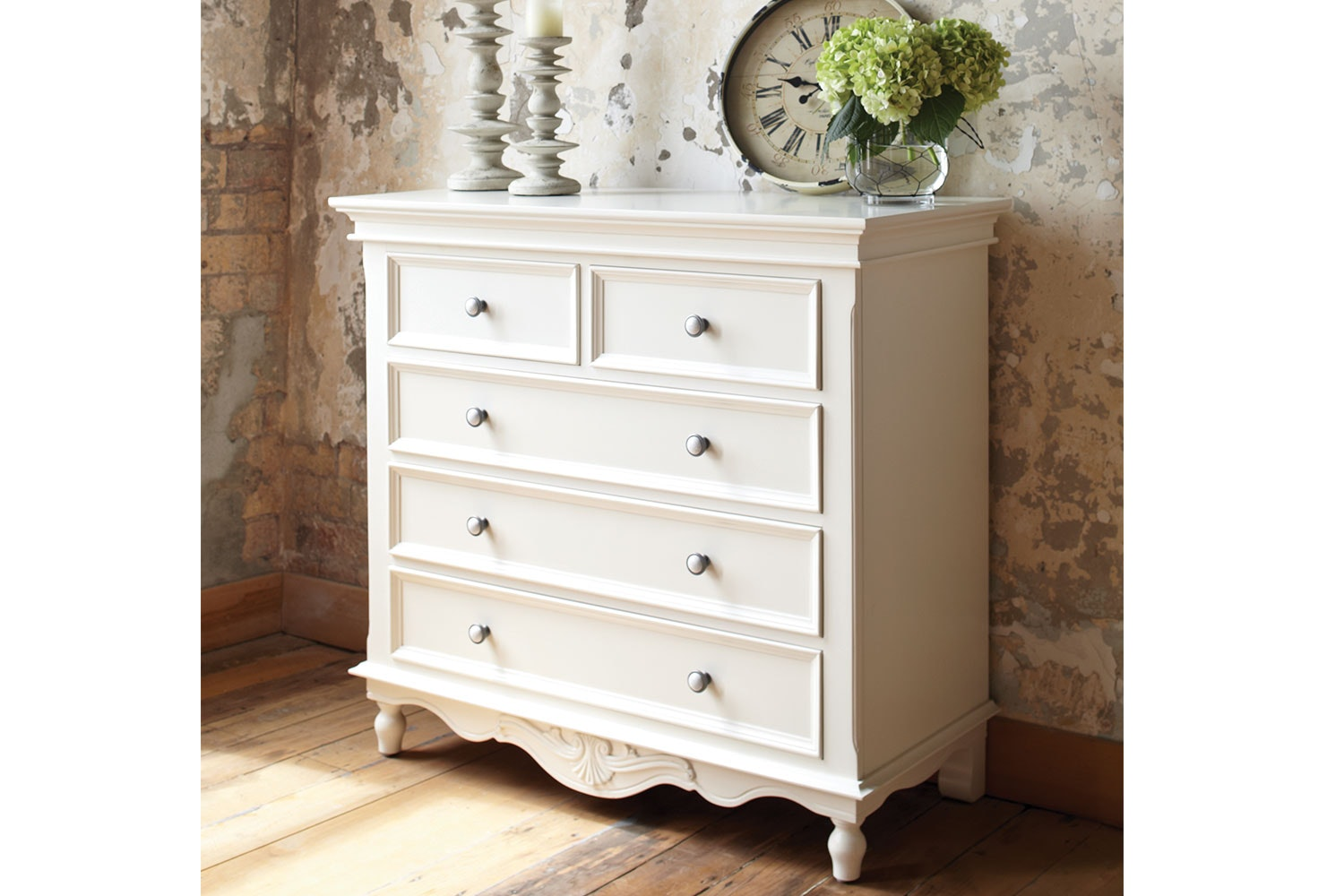 Chambre 5 drawer chest by Garry Masters