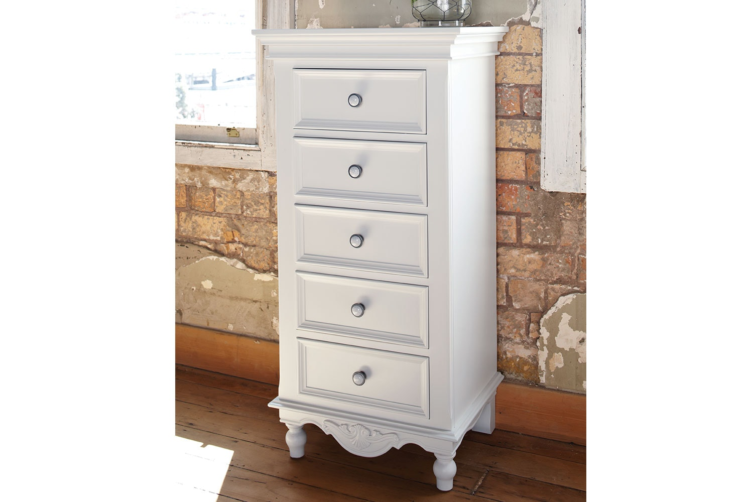 Chambre 5 Drawer Lingerie Chest by Garry Masters
