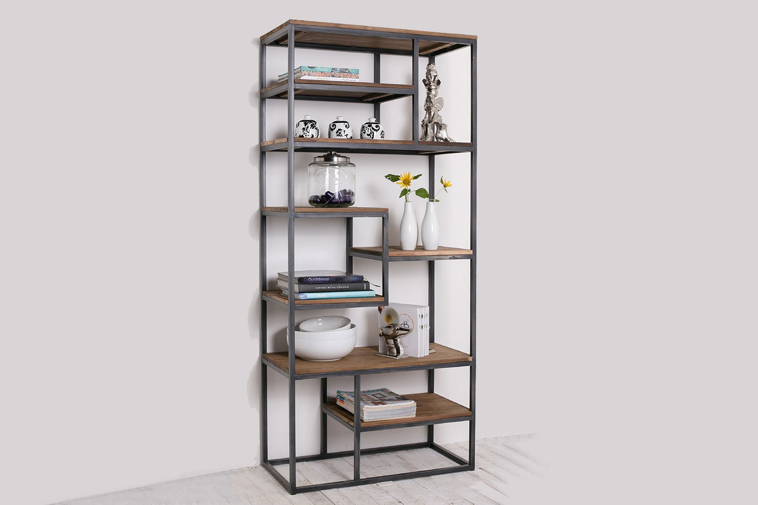 Fendy 7 Shelf Bookcase by D-Bodhi Collection