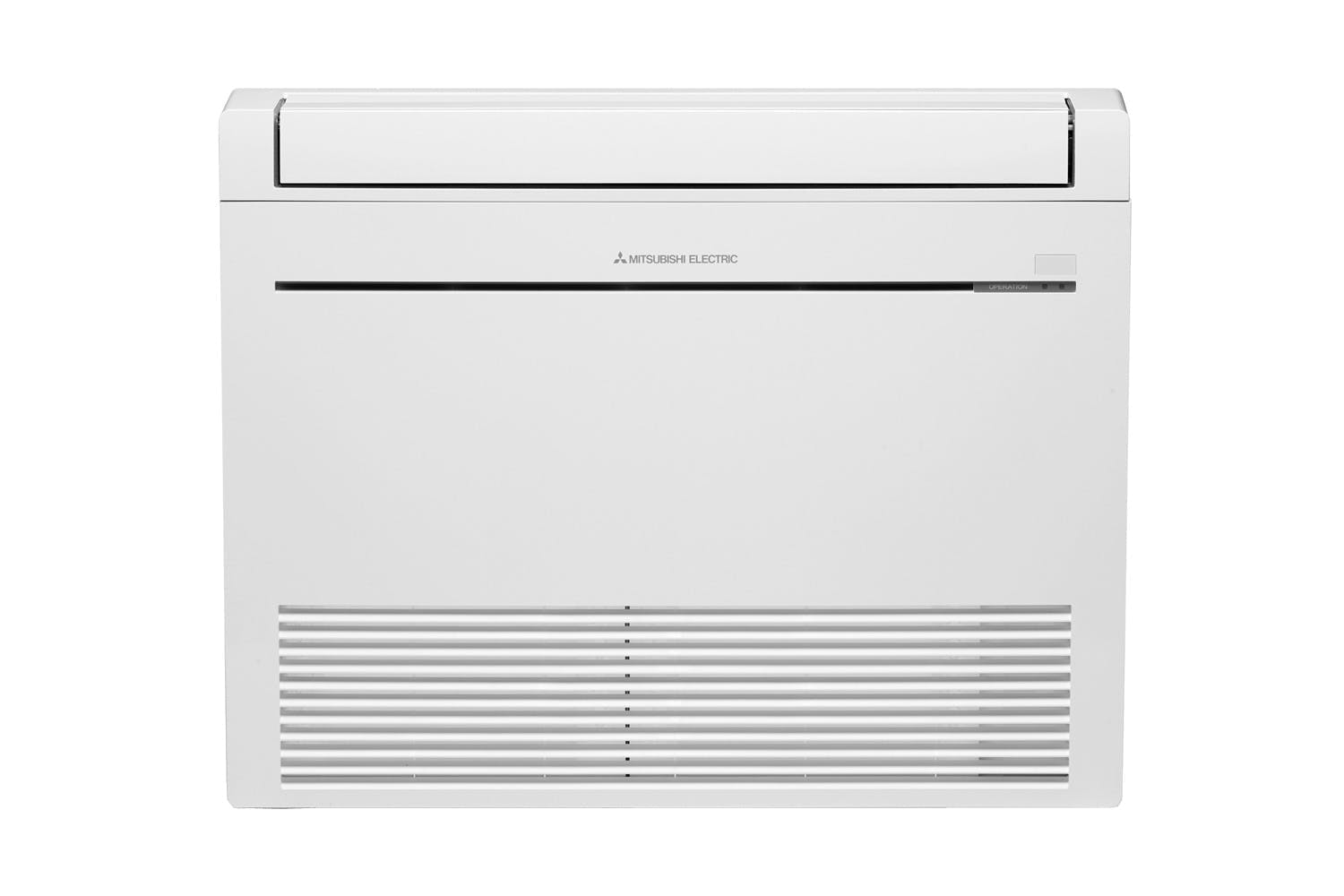 Mitsubishi Electric RapidHeat KJ60 Floor Console Heat Pump / Air Conditioner