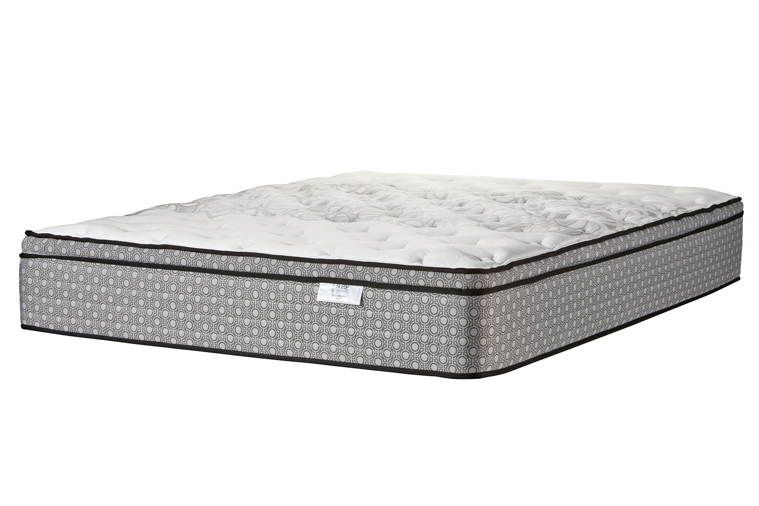Michigan Plush Long Single Mattress by Sleep Smart