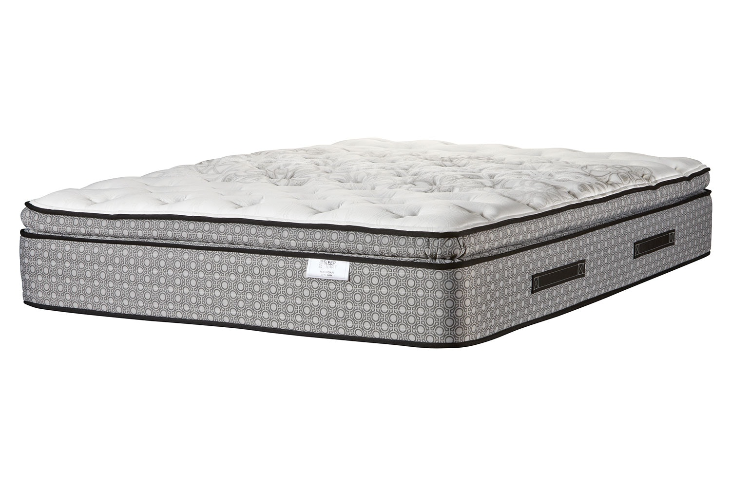Michigan Ultra Plush Long Single Mattress by Sleep Smart
