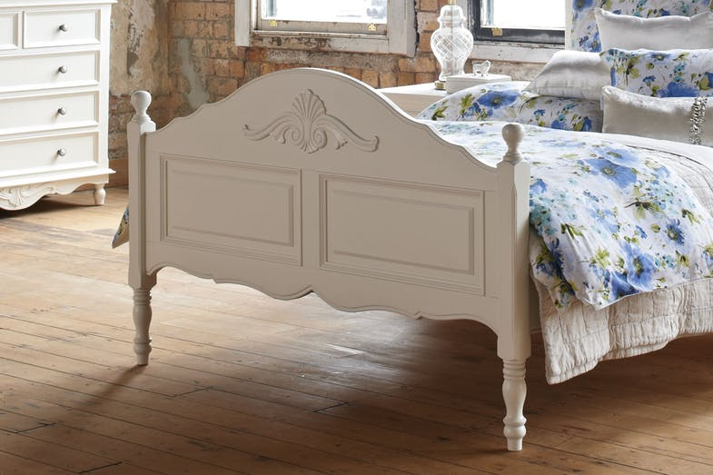 Chambre Queen Slat Bed Frame by Garry Masters - Foot End