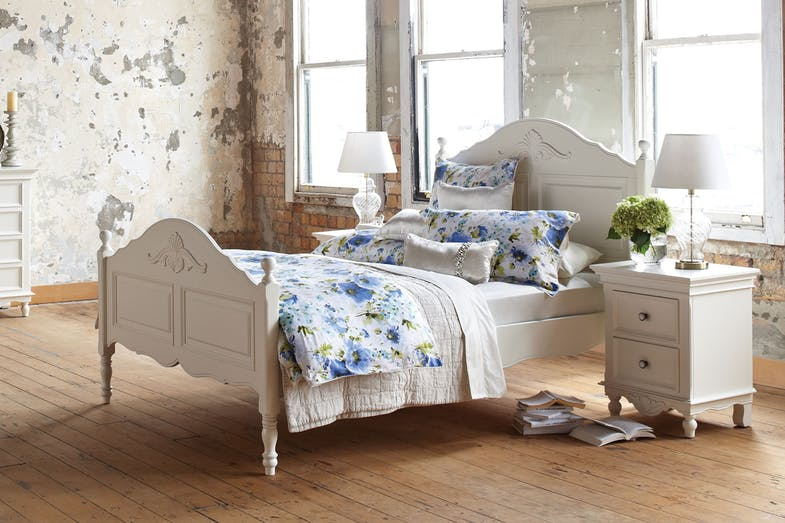 Chambre Queen Slat Bed Frame by Garry Masters