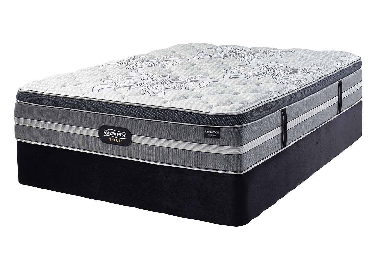 Revolution Medium Californian King Bed by Beautyrest