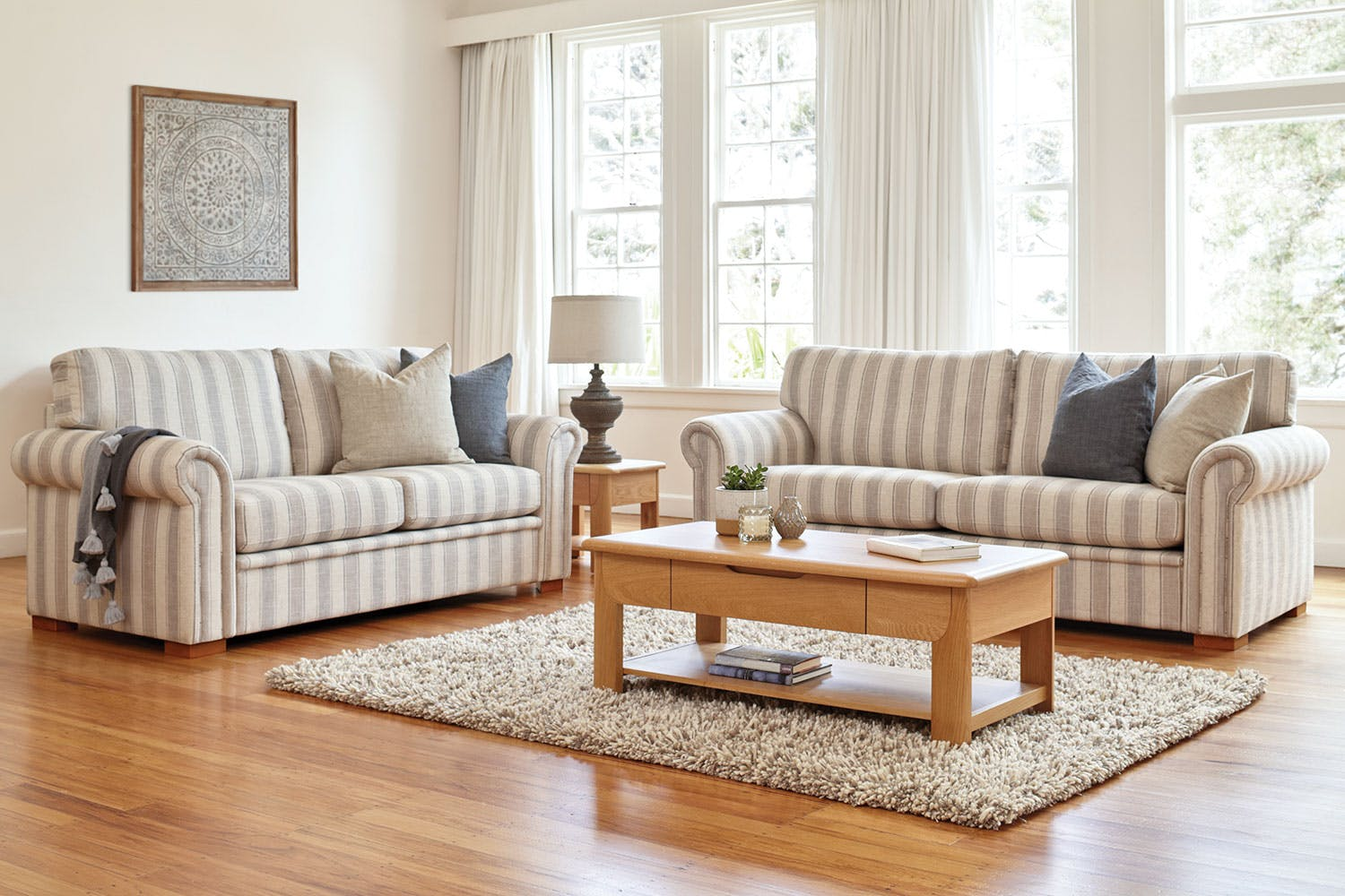 lounge suites couch ottoman sofa packages harvey norman new