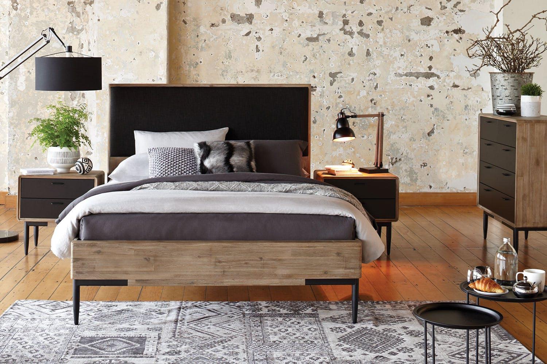 Alba 4 Piece Queen Tallboy Bedroom Suite By John Young Furniture Harvey Norman New Zealand