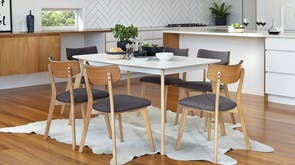 Clare 7 Piece Dining Suite by Nero Furniture