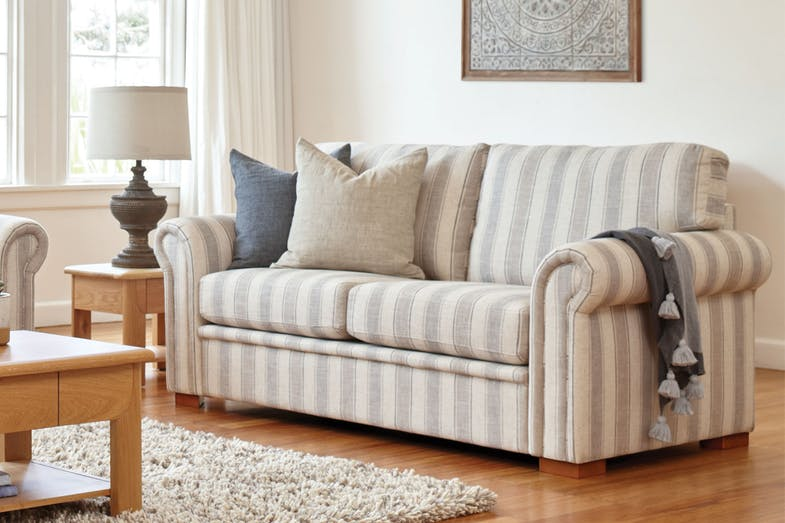 Libby 2.5 Seater Fabric Sofa by Evan John Philp