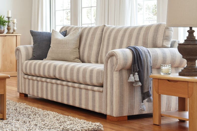 Libby 3 Seater Fabric Sofa by Evan John Philp