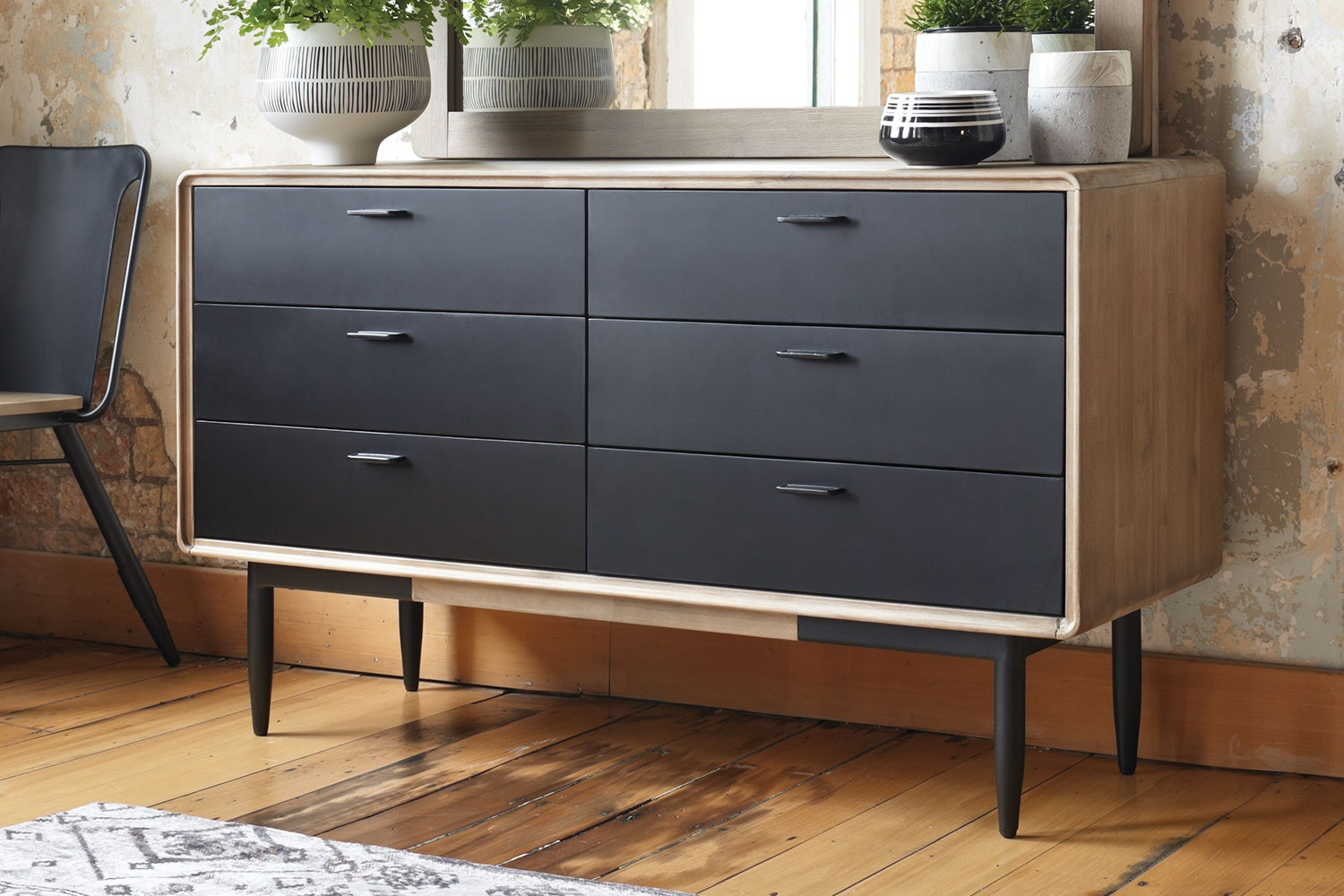 Alba 6 Drawer Lowboy by John Young Furniture