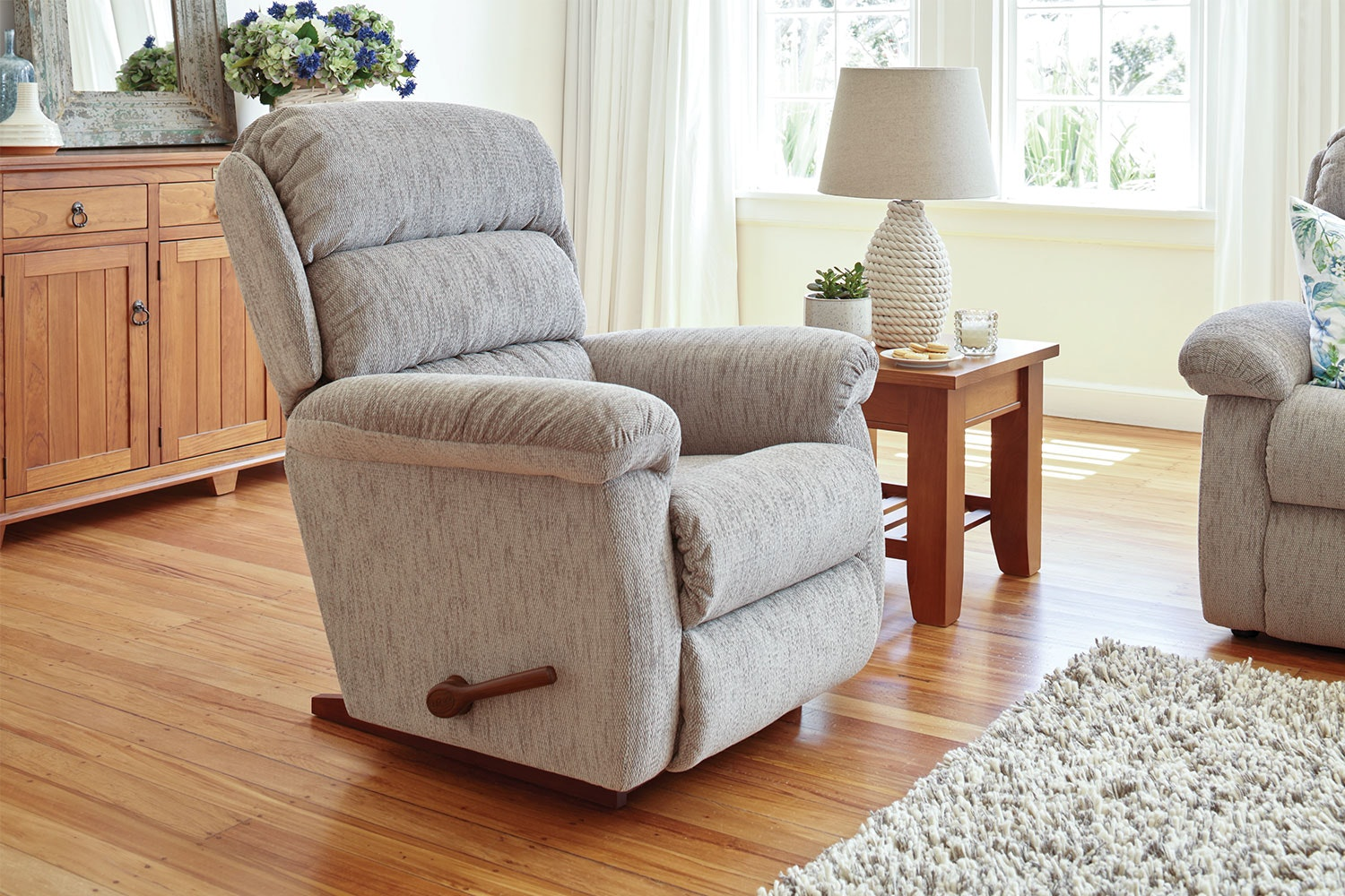 Rapids 3 Piece Fabric Recliner Lounge Suite by La-Z-Boy