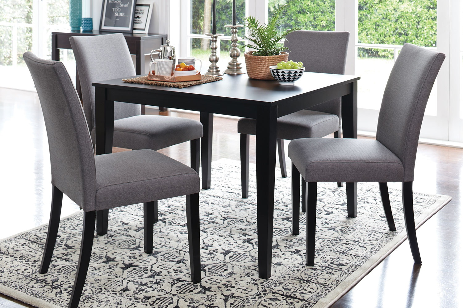 Monza 5 Piece Dining Suite by Paulack Furniture