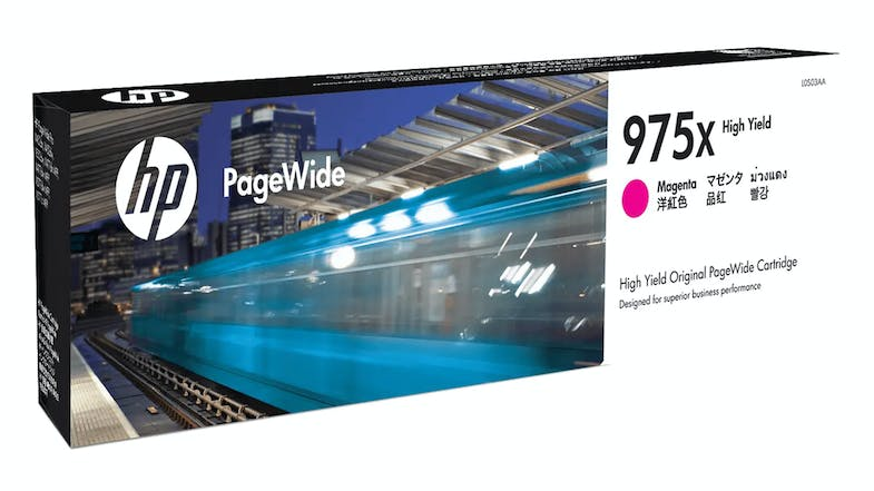 HP 975X PageWide Ink Cartridge - Magenta