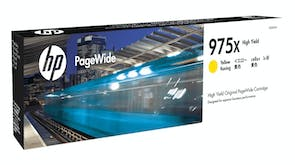 HP 975X High Yield Yellow PageWide Cartridge