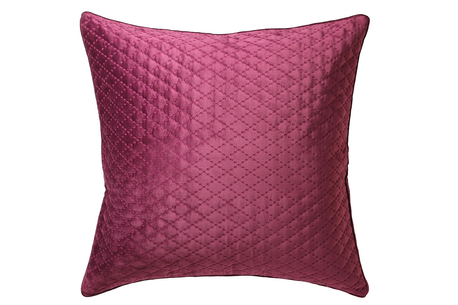 Antique Lattice Accessory Range by Florence Broadhurst - Plum European Pillowcase