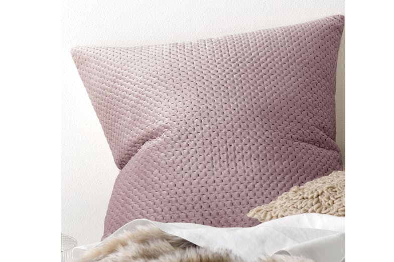 Anya Blush Duvet Cover Set by Savona - Pillowcase